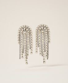 Earrings with rhinestones and pearls Crystal Woman 202TA4312-01