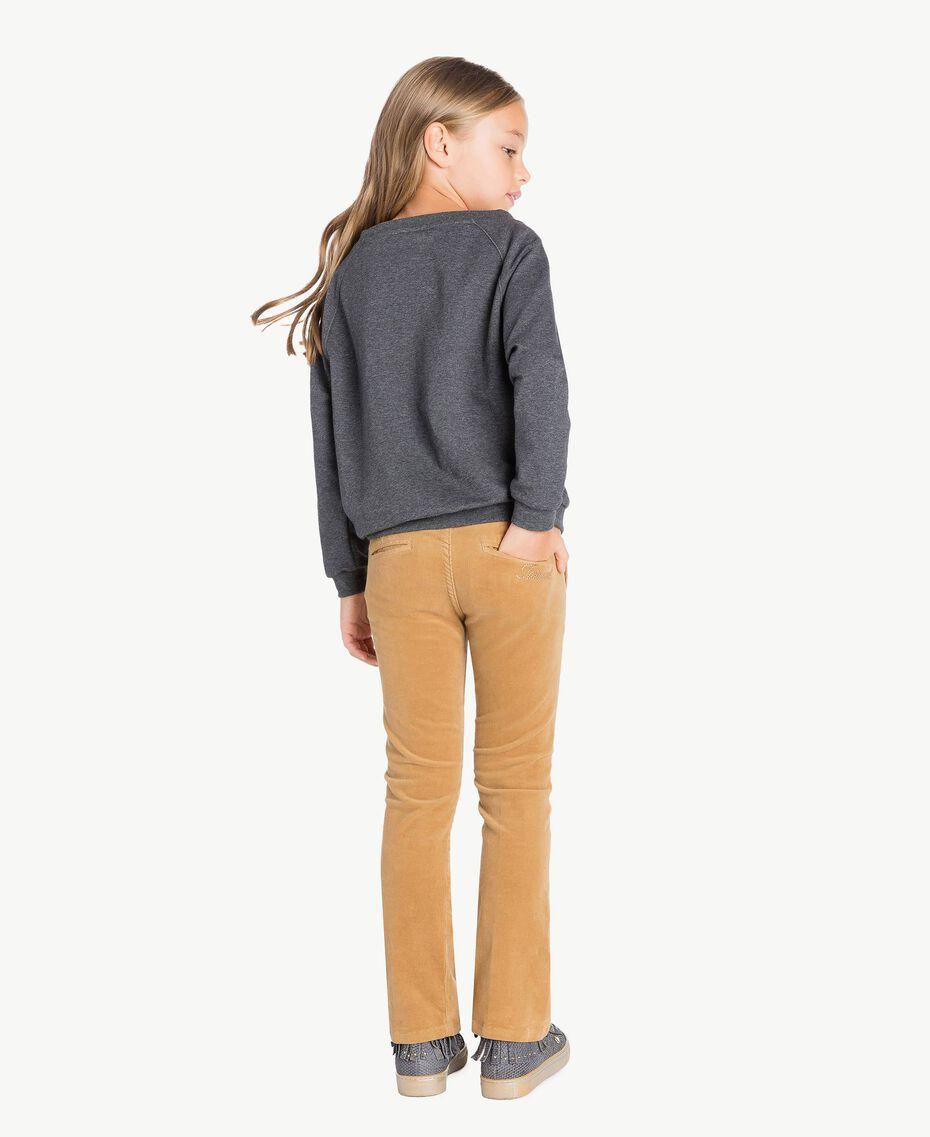 "Bell-Bottom-Jeans ""Torroncino""-Braun GA72RN-03"