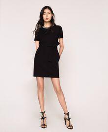 Dress with studs Black Woman 201MP2211-01