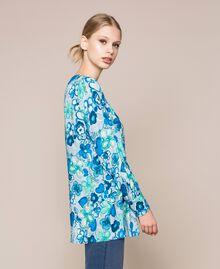 Blouse avec imprimé floral Imprimé Reve / Roses Femme 201TQ2020-01