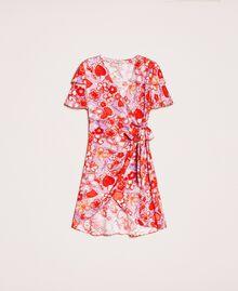 Floral print dress Reve / Rose Print Woman 201TQ2021-0S