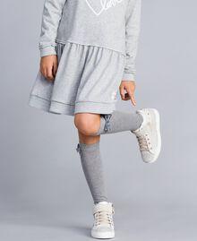 Baskets en cuir et strass Off White Enfant HA88DA-0S