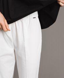Leggings en popeline Off White Femme 191ST2043-05
