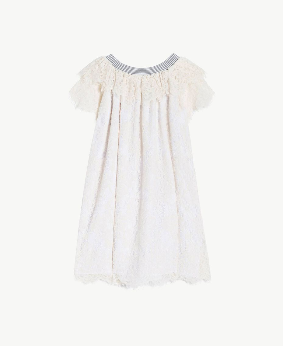 Lace dress Pale Cream Child GS82UQ-01