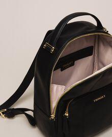 Рюкзак из искусственной кожи с карманом Черный женщина 201TA7163-05