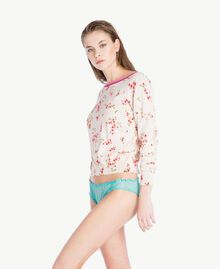 "Tulle briefs ""Paradise Candy"" Blue Woman LS8BYY-03"