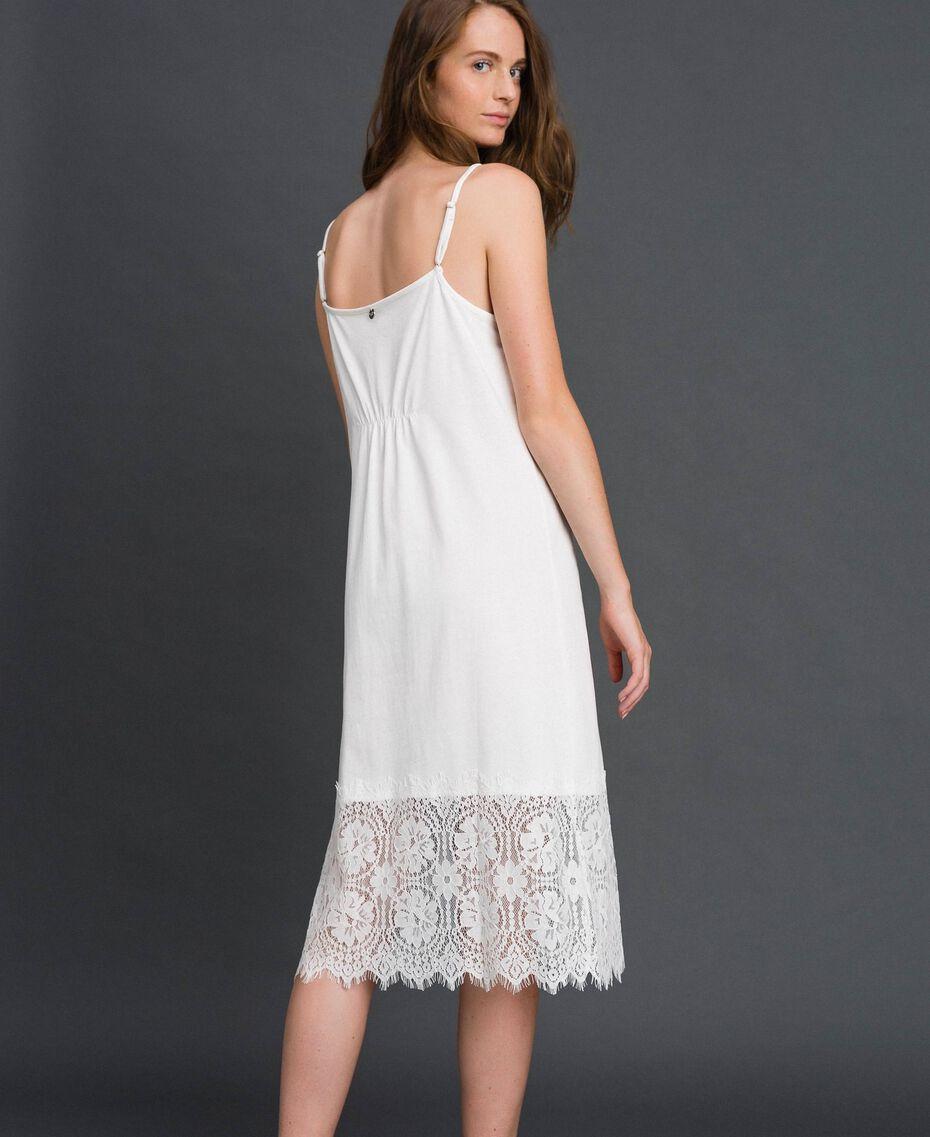 Lace slip dress White Woman 192ST2195-03