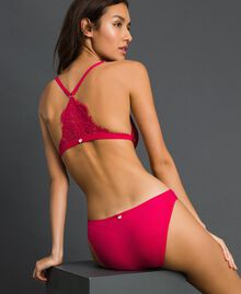 "Lace briefs ""Cherry Coke"" Fuchsia Woman 192LI6166-03"