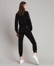 Pantalon de jogging Noir Femme 191LB22PP-04