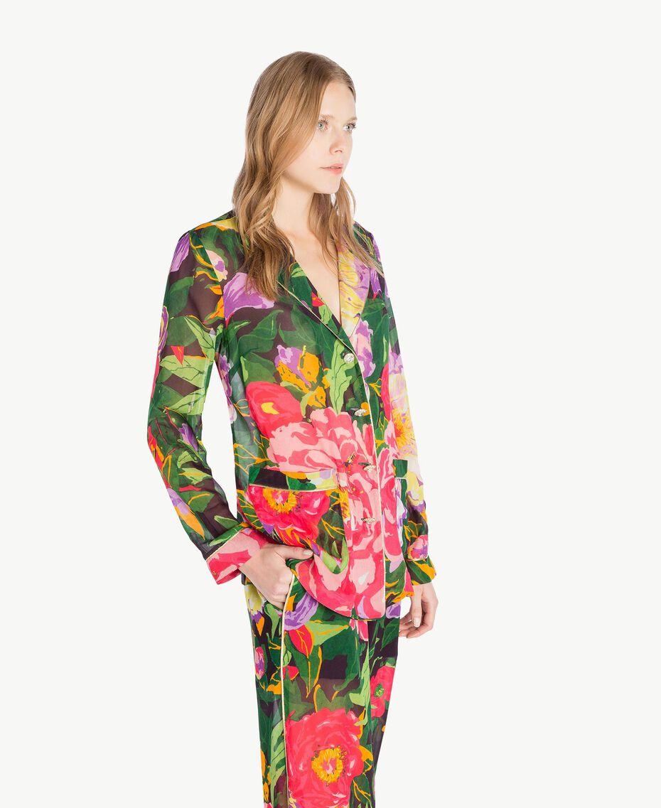 Printed shirt Summer Garden Print Woman TS8243-02