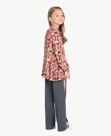Printed blouse Cream Folk Print Female GA7241-03
