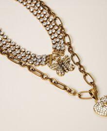 Collier ras-de-cou avec pendentifs Cristal Femme 202TO5047-03