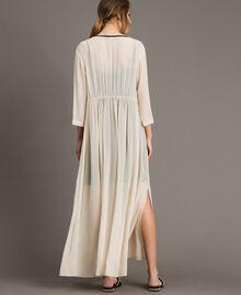 Georgette long dress Ecrù Woman 191ST2205-03