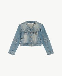 "Denim jacket ""Mid Denim"" Blue Child FS82T1-01"