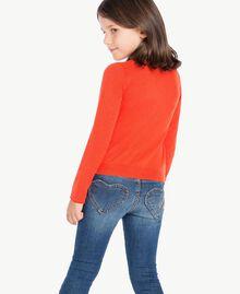 Rebeca de viscosa Naranja Femenino GA73AB-03