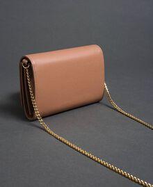 Petit sac à bandoulière avec fermoir papillon Rose Mousse Femme 192TA7022-03