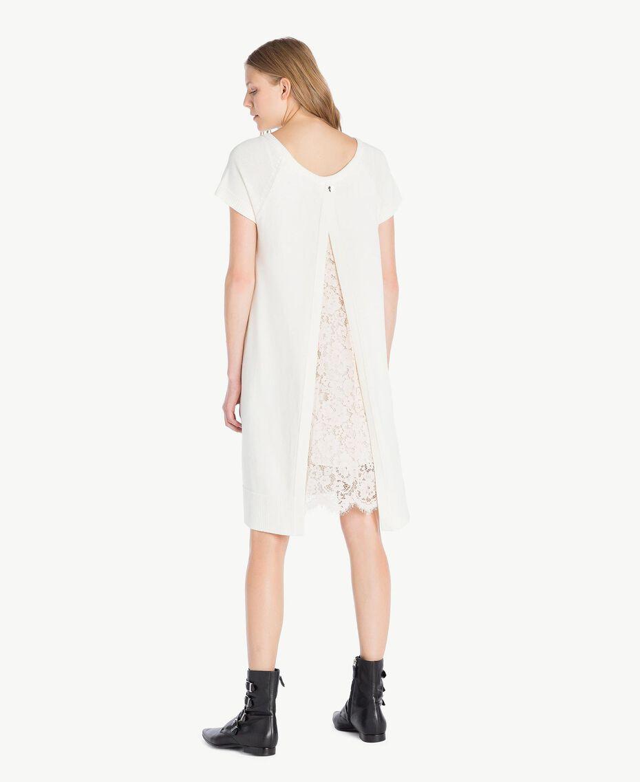 Lace dress Light Ivory Woman PS8371-03