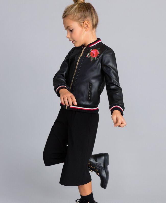 Veste en similicuir Enfant, Rouge | TWINSET Milano