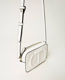 Shoulder bag with logo Black Woman 211TD8081-02