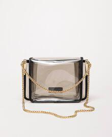 Bea Bag en PVC avec chaîne à bandoulière Gris Femme 201TO8200-03