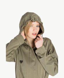 Star parka Army Green Woman JS82QG-04
