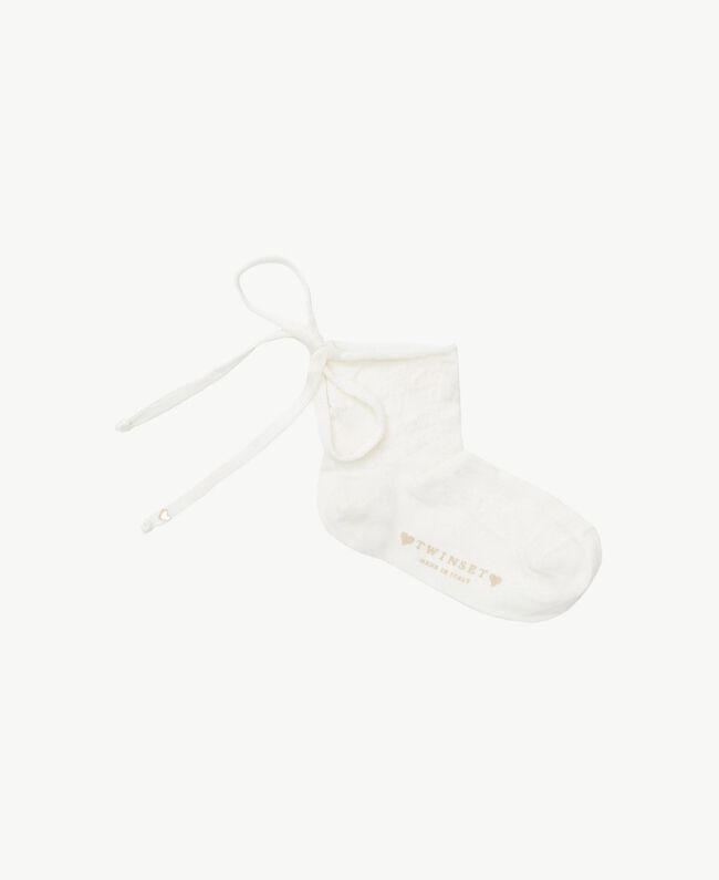 Chaussettes nœud Chantilly Enfant GS8ACU-01