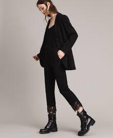 Giacca blazer lunga Nero Donna 191TP2420-04