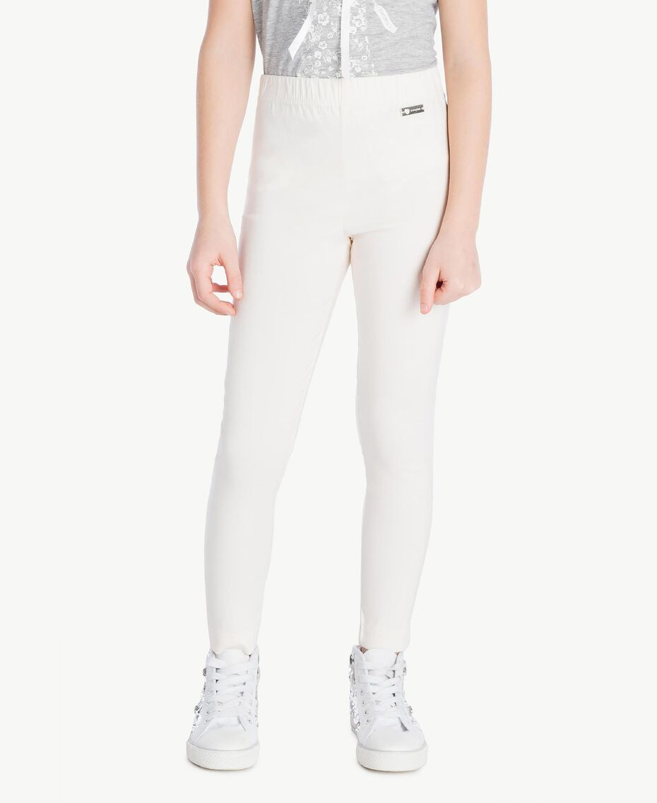 Skinny trousers Pale Cream Child GS82HP-02