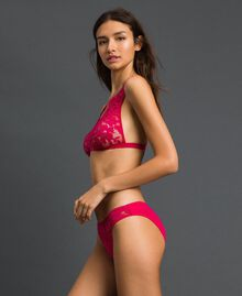 "Lace briefs ""Cherry Coke"" Fuchsia Woman 192LI6166-02"