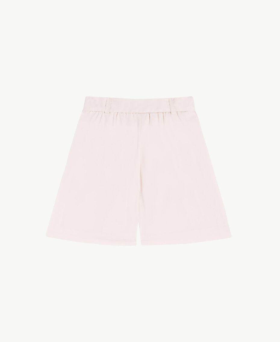 Poplin trouser skirt Bud Pink Child FS82QN-02