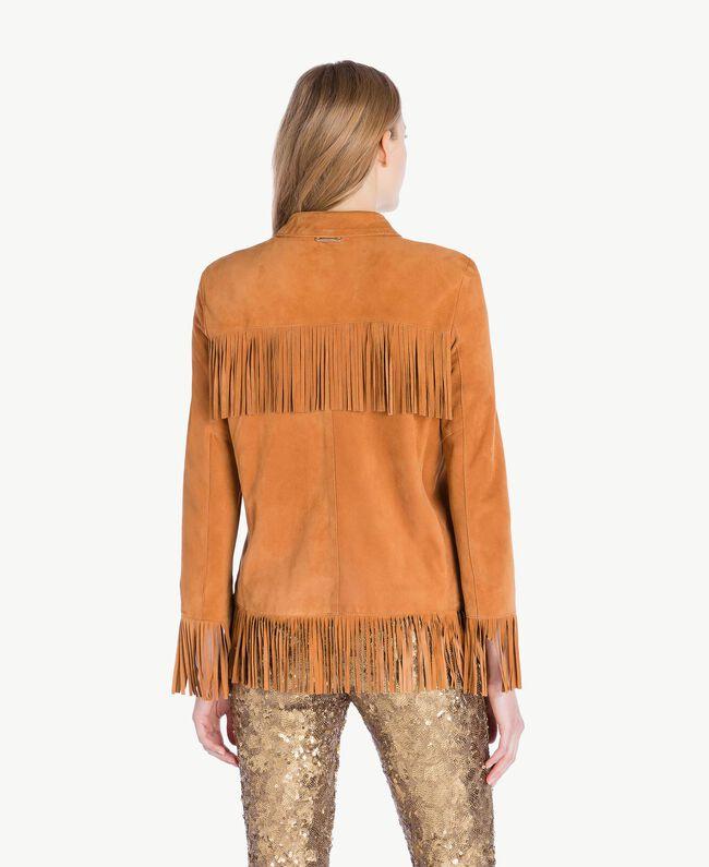 online retailer 4cec1 6dc00 Giacca camoscio Donna, Beige | TWINSET Milano