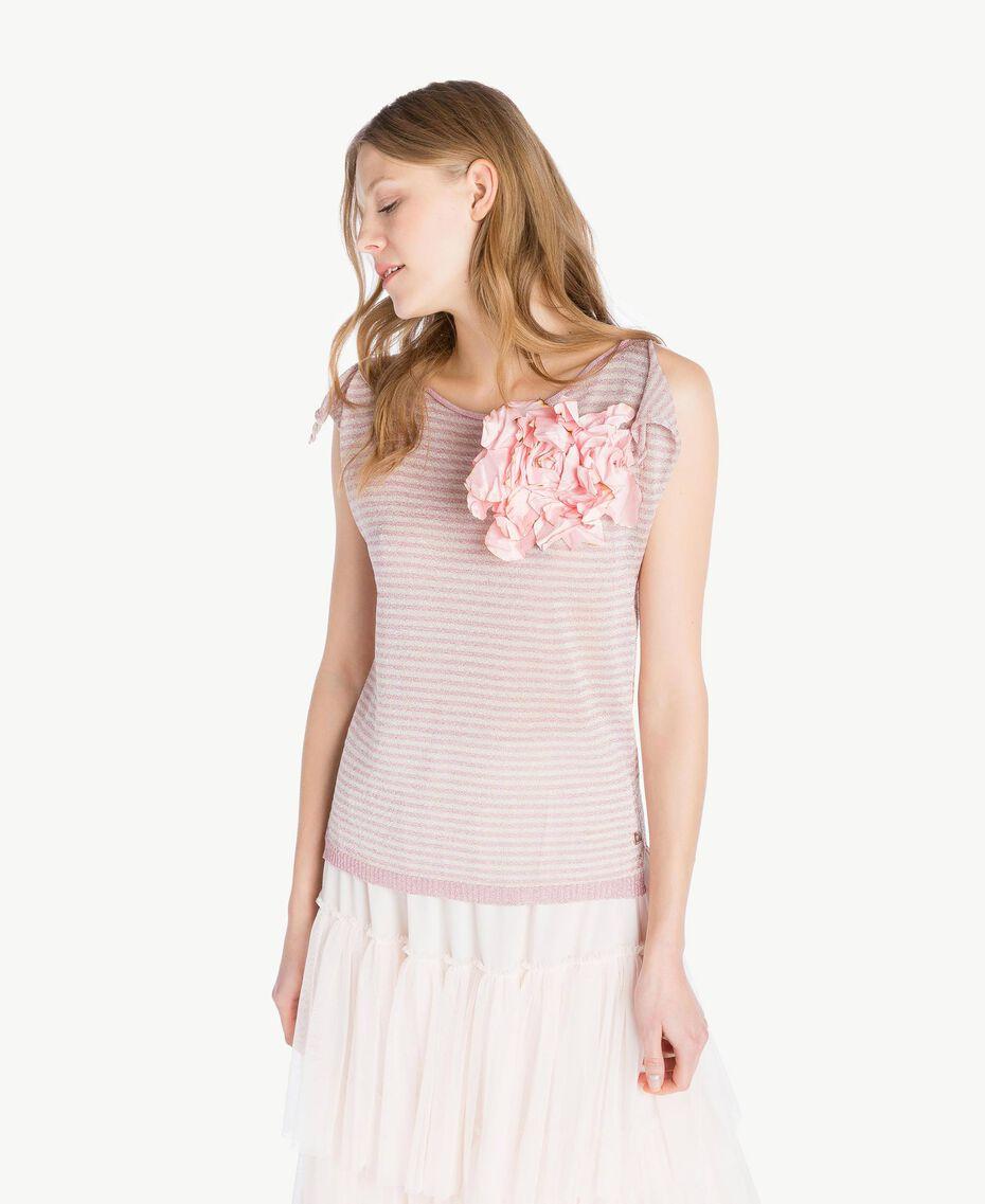Broche fleur Rose Hortensia Femme AS8P71-02