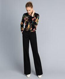 Milan stitch trousers Black Woman PA8218-01