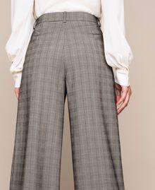 Glen plaid trousers Multicolour Glen Plaid Woman 201MP2062-06