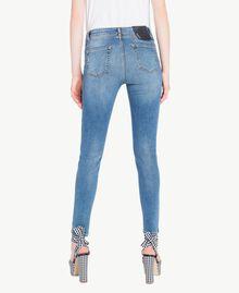 Skinny-Jeans Denimblau Frau JS82V2-03