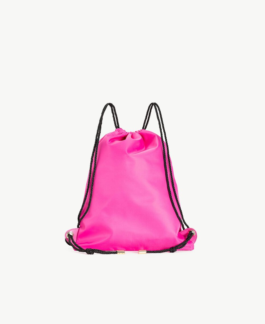 TWINSET Sac strass Broderie Chatons Soie Fuchsia Femme RS8TGD-03