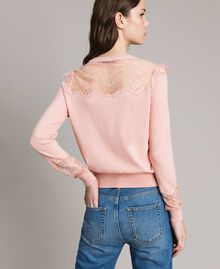 Top with lace details Pink Pearl Woman 191TP3031-03
