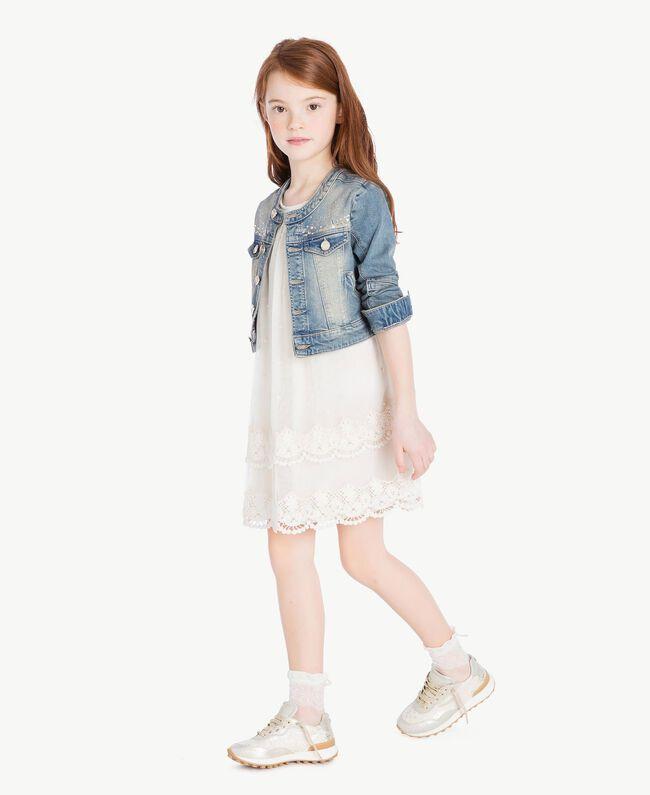 Lace socks Pale Cream Child GS8AC4-05
