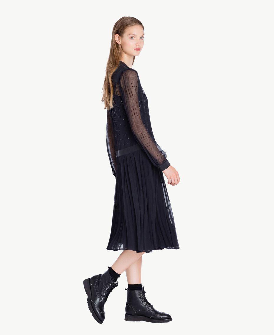 Rhinestone dress Bluestone JA72F2-02
