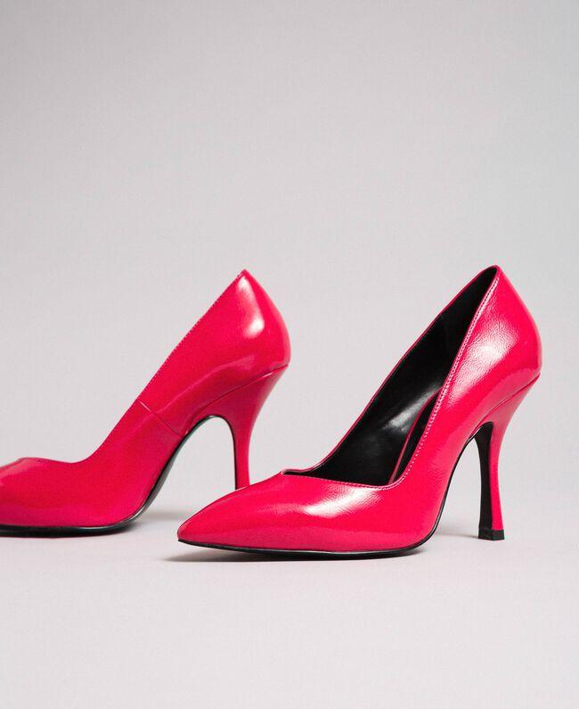 Escarpins vernis Rose «Rose Brillant» Femme 192MCT062-01