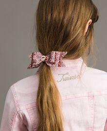 """Schleifen-Haarbrosche """"Crystal Pink"""" Kind 191GJ4999-0S"""
