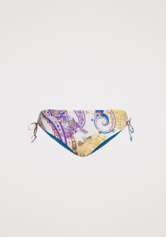 Paisley print bikini bottom