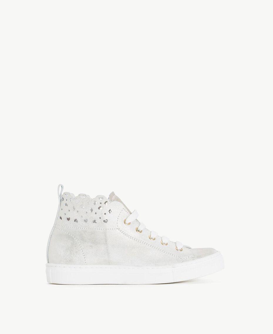 Scalloped sneakers Platinum Child HS88CN-01