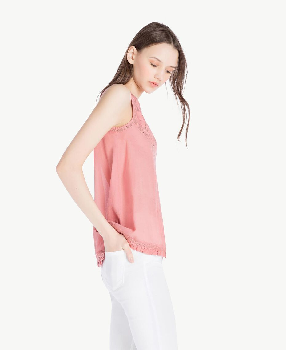 Muslin top Old Rose Woman SS82HN-02