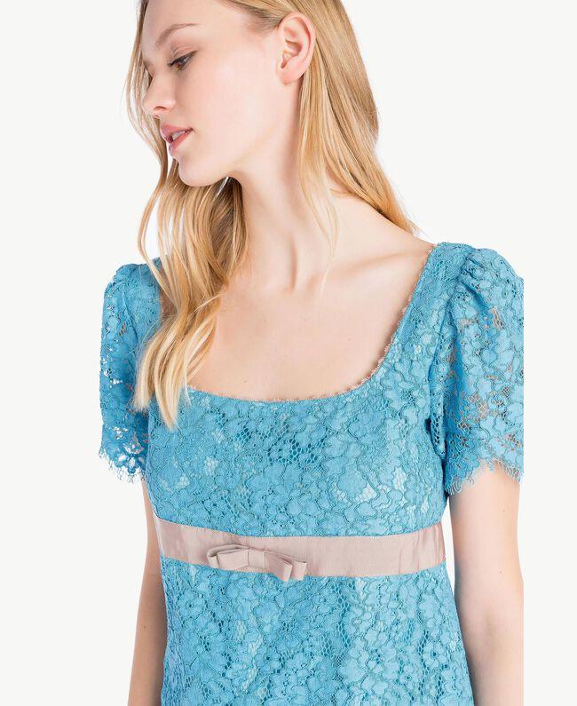 Lace dress Oriental Blue Woman PS82XA-04