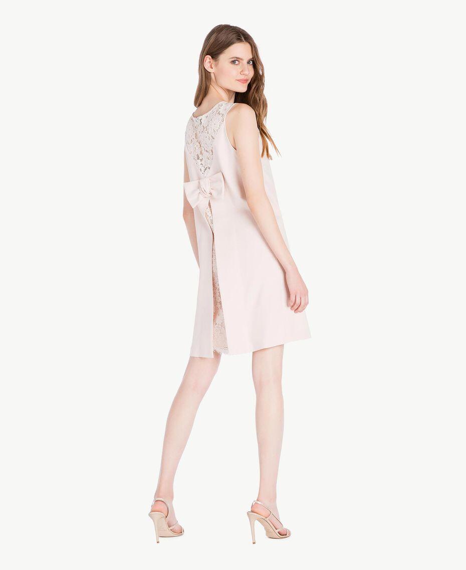 Lace dress Pale Ecru Woman PS828T-03