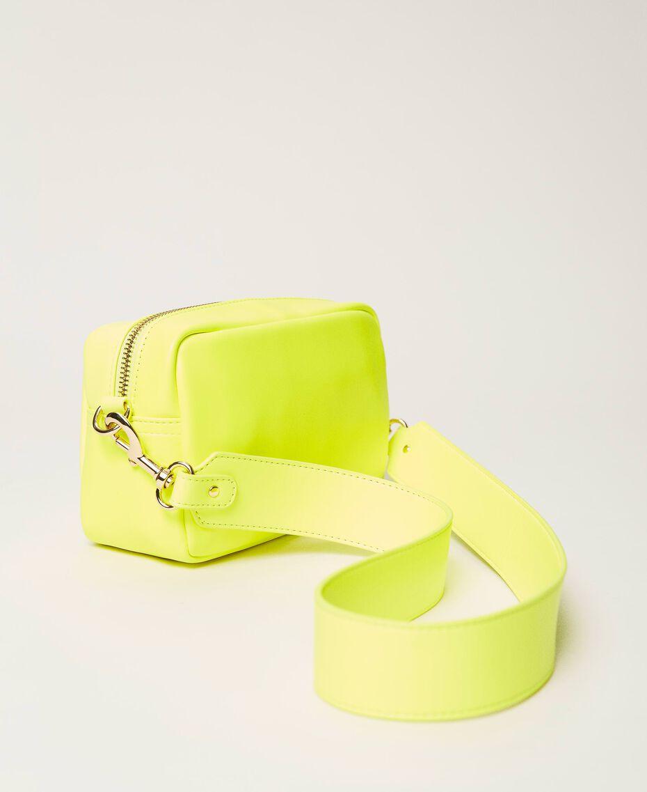 "Padded shoulder bag ""Led"" Yellow Woman 211TD8050-02"