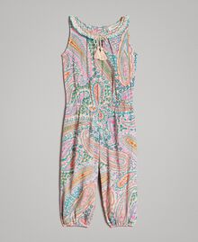 Viscose jumpsuit with paisley print Paisley Print Child 191GB2510-01