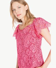 Top pizzo Provocateur Pink Donna TS828S-04