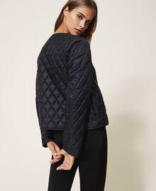 Ultra light quilted puffer jacket Black Woman 202LI2AHH-03